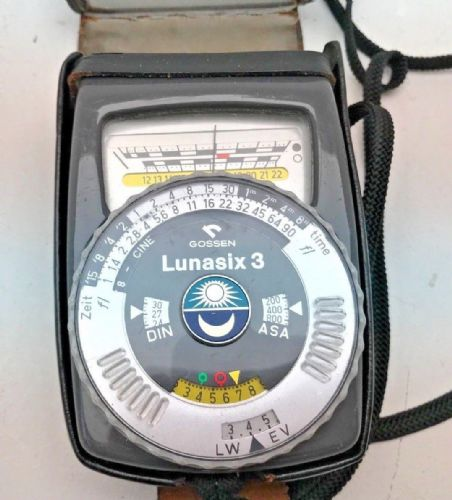 Gossen Lunasix 3 professional light meter